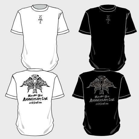 Tシャツ(ホワイト・ブラック)
